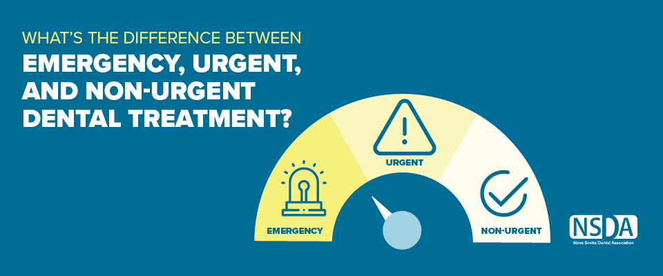 What's the Difference Between Emergency, Urgent, and Non-Urgent Dental Treatment?
